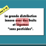 La grande distribution innove avec des fruits et légumes sans pesticides / Baliverne#14