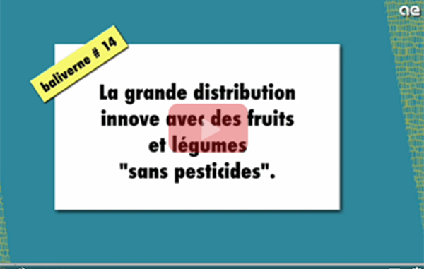 grande distribution fruits legumes pesticides