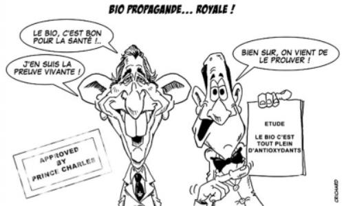 dessin crichard : bio propagande