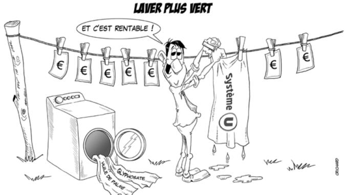 Dessin CRichard / Laver plus vert