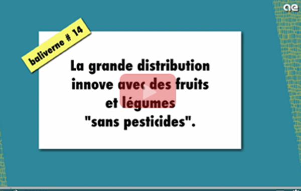 grande distribution fruits legumes pesticides