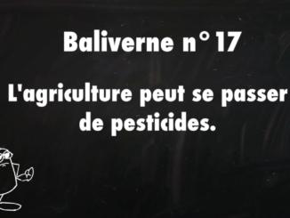 agriculture peut se passer pesticides baliverne 17