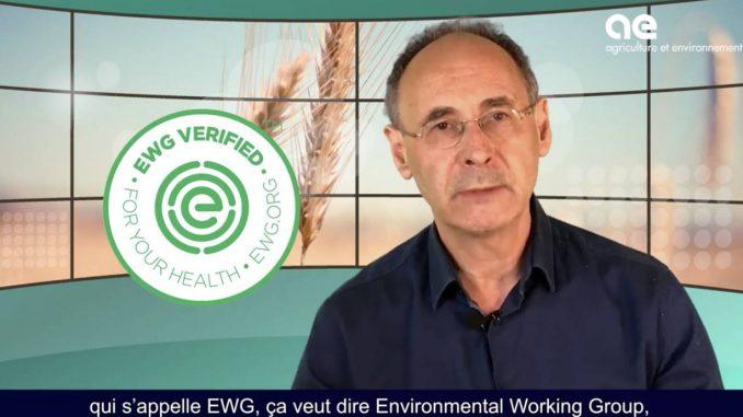 Pesticides EWG lobby bio americain